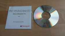 THE YOUNG KNIVES - SHE'S ATTRACTED TO (RARE 1 TRACK PROMO CD SINGLE - 2006)