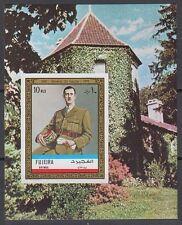 Fujeira 1972 ** Bl.101 B Charles de Gaulle
