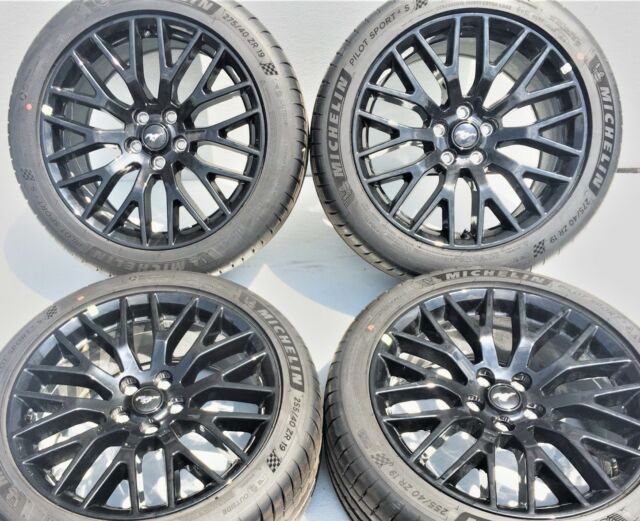 Mustang Wheels For Sale >> 2016 Ford Mustang Gt 19 Rims Wheels Tires Oem Factory Staggered Original 4set