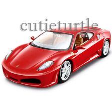 Bburago Ferrari Race & Play Ferrari F-430 Coupe 1:24 Diecast Car 26058 Red