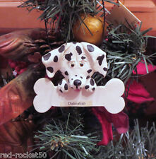 DALMATION CHRISTMAS ORNAMENT, Catherine LillyWhites, Resin, Artist Gail West