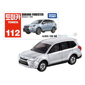 Image Is Loading Takara Tomy Tomica 112 Subaru Forester Cast Car