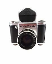 Vintage PENTACON six TL 6x6 SLR Camera Prism Finder Carl Zeiss f2,8/80mm Lens