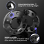 thumbnail 2 - 5x120 Staggered Wheel Spacers Kit (2) 15mm & (2) 20mm W/ Extended Bolts Fits BMW