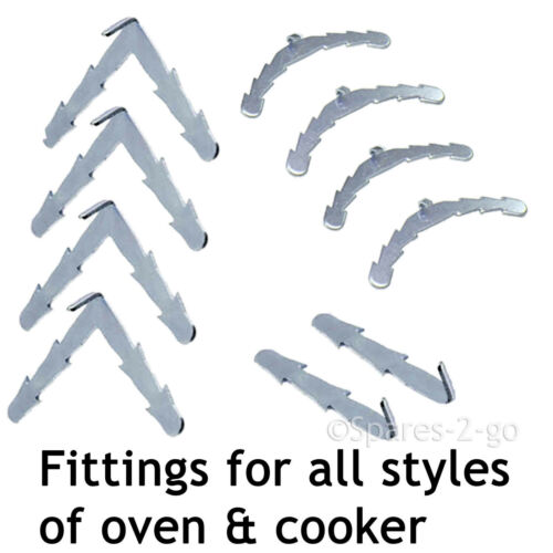 Rounded or 90º Clips 2.95m Door Seal for New World 3 or 4 Sided Oven Cooker