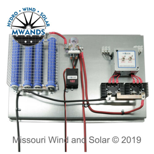 Dual Freedom II Wind /& Solar Hybrid All in One Charge Controller with LED Meter