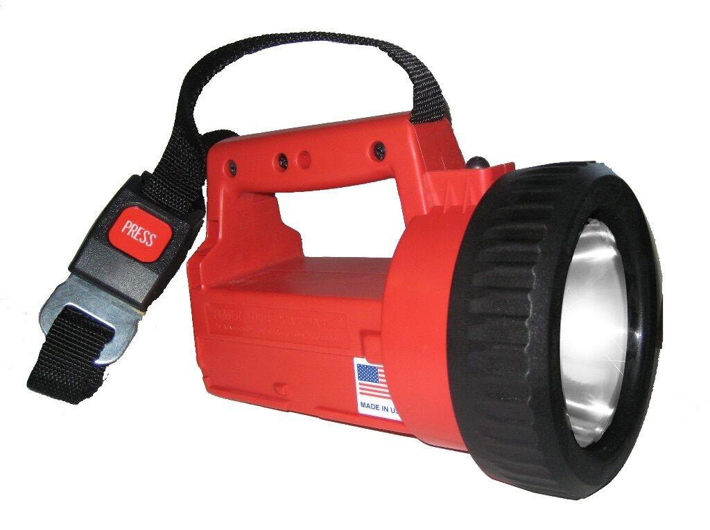Advanced Lighting Power-Plus rechargeable FIREFIGHTERS Flashlight LED FDNYFD1