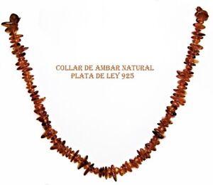 COLLAR-de-AMBAR-NATURAL-del-BALTICO-y-PLATA-de-LEY-925-43-44-cm-con-Estuche