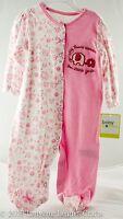 Thank Heaven For Little Girls Baby Sleep & Play Pajamas Elephant 6 Months