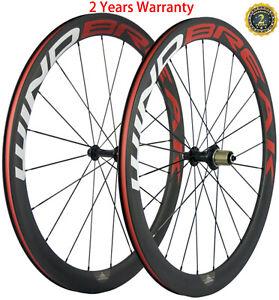 50mm-Clincher-Carbon-Wheels-Road-Bike-Wheelset-700C-23mm-UD-3k-Shimano-Campay
