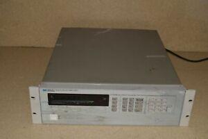 HEWLETT PACKARD 6624A SYSTEM DC POWER SUPPLY