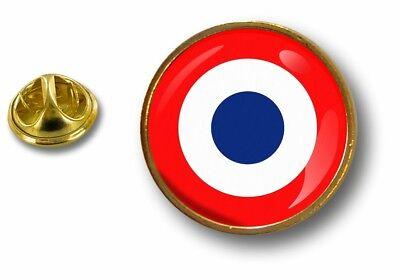 Akachafactory pins pin Badge pins Metal epoxy avec Pince Papillon Drapeau France Lyon