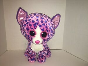 TY Claire s Reagan the Cat Beanie Boo Large Big Plush Pink Purple ... 738ab1ddd5d