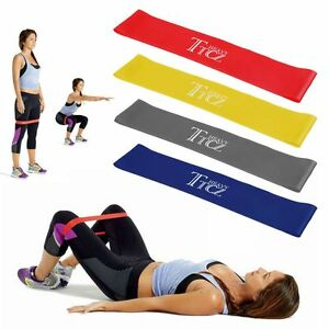 Image Is Loading AU Gym Exercise Yoga Plates RESISTANCE BAND LOOP