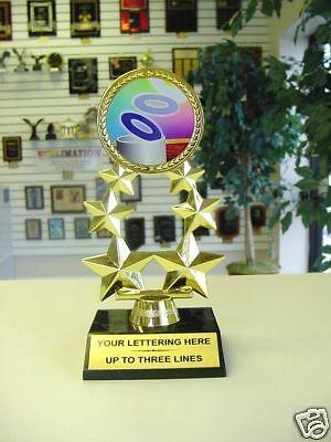 "GARDENING Trophy 5.5/"" or 7/"" FREE ENGRAVING Personalised Engraved Award Allotment"