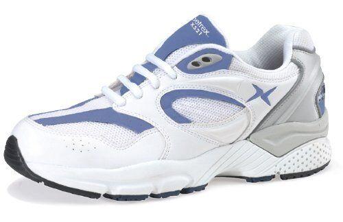 Aetrex Apex X521 Para Hombre Zapato de correr Lenex blancoo Azul Marino