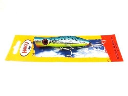 Halco Roosta Druckknopf 105 Salzwasser Topwater Guss Große Fische Köder Select
