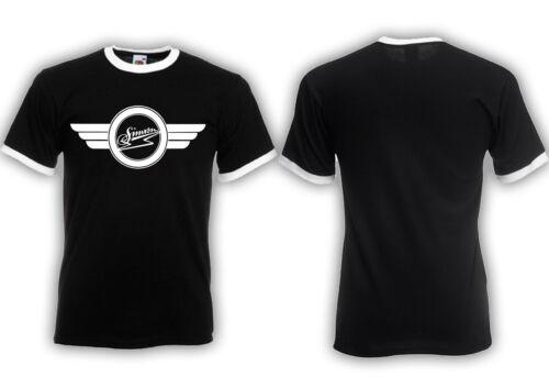 Samson Logo alt ringer shirt s51 s50 schwalbe rda deux roues culte