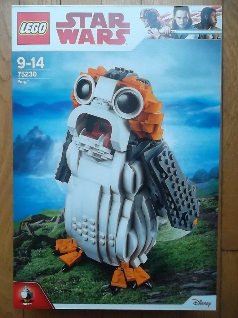 NEUF - Jeu de construction Figurine Animée LEGO STAR WARS (n°75230)   PORG