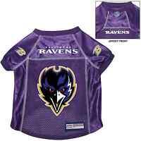 Baltimore Ravens Pet Dog Premium Nfl Alternate Jersey W/name Tag Purple