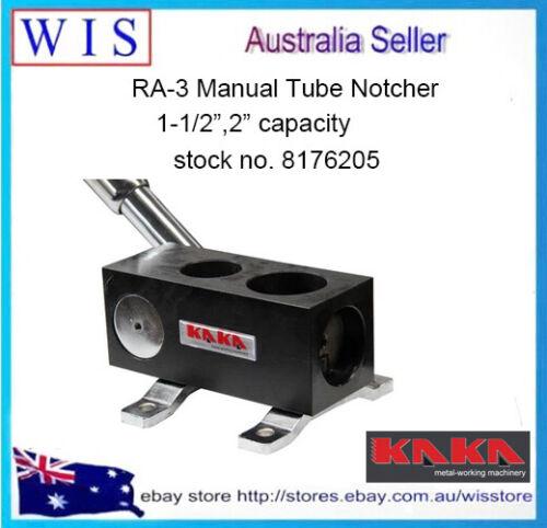 "RA-3 Manual Tube Notcher,1-1//2/"",2/"",Solid Construction Tubing Notcher-8176205"