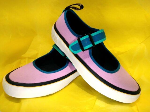 Dr.Martens Womens Florentia Canvas Shoes   Mary Jane