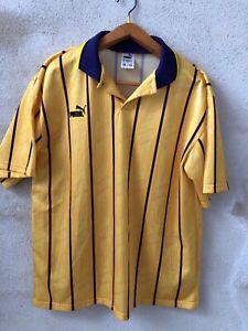Maglia-Shirt-Calcio-Football-England-Puma-Vintage-Usa-Tg-Xl