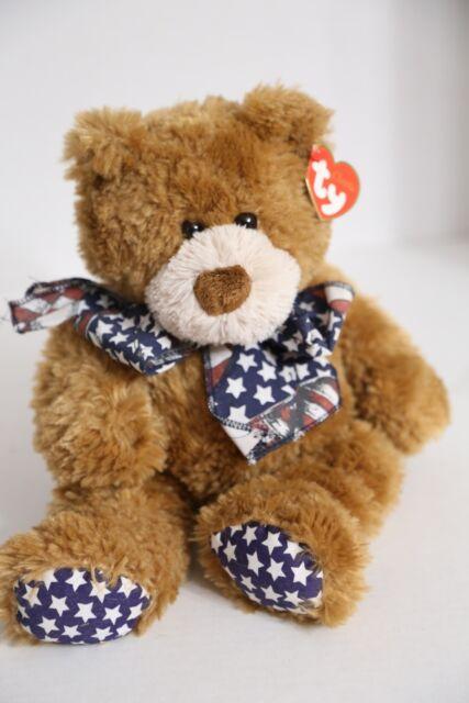 For Sale Plush 2006 Doll Teddy Classic Flags Toy Patriotic Bear Ty CBoQdxWEre