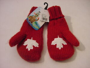 NWT-YOUTH-GLOVES-2010-VANCOUVER-OLYMPICS-CANADA-ONE-SIZE-FITS-MOST