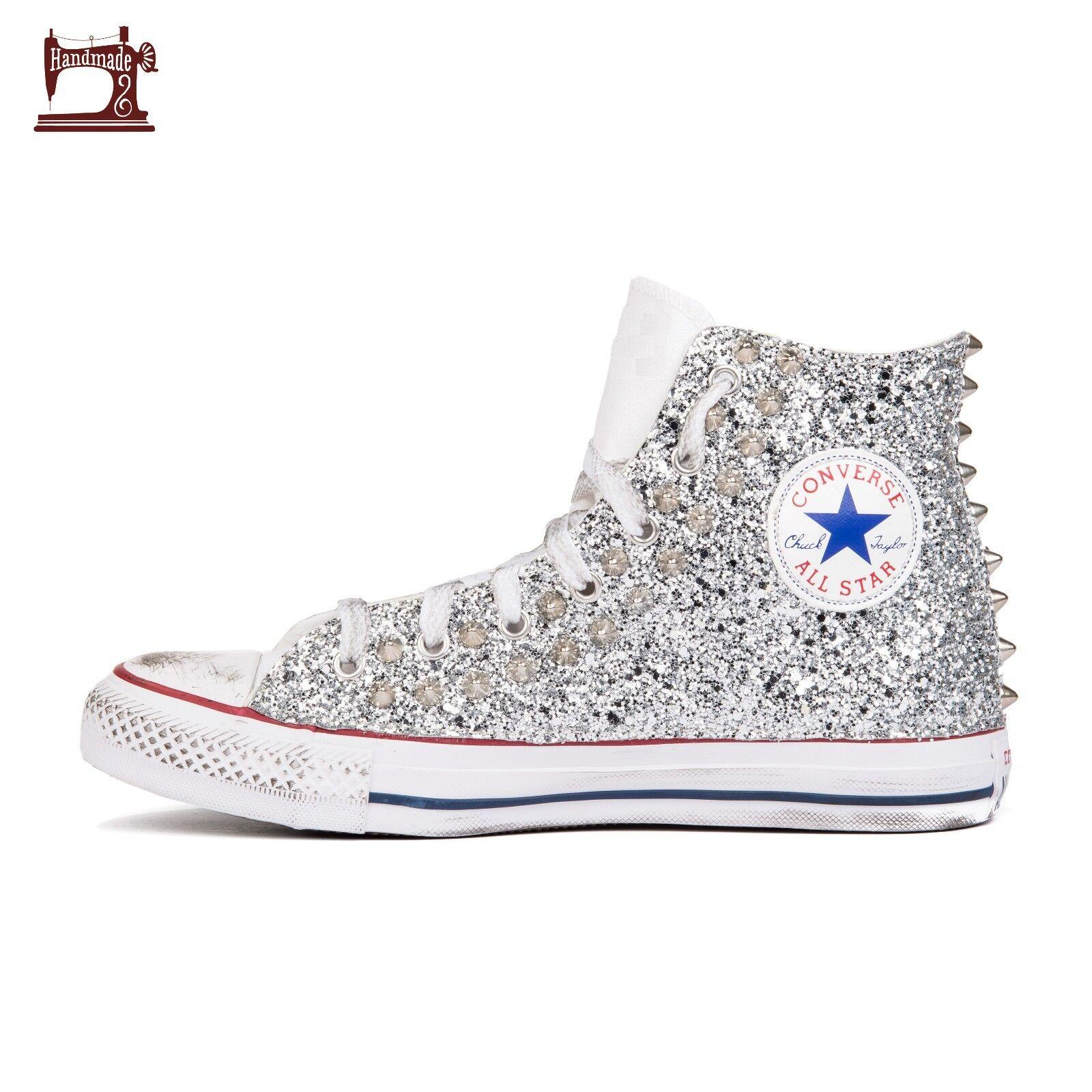 converse all borchiate star borchie borchiate all e glitter interno ed esterno e41c1d