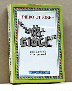 LE-REGOLE-DEL-GIOCO-P-Ottone-Libro-Longanesi-amp-C