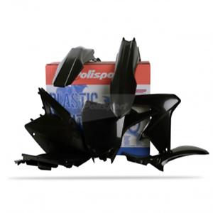 Plastic Kit Black For 2013 Suzuki RMZ450 Offroad Motorcycle~Polisport 90146