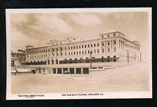 Australia ADELAIDE Railway Station Rose Series c1930s? RP PPC Rose Stereograph