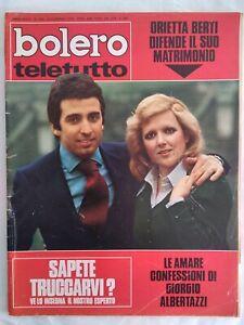 Bolero-1399-Berti-Morandi-Leroy-Colli-Mia-Martini-Franco-Ciccio-Ninchi-Tognazzi