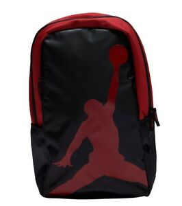 NEW NIKE AIR JORDAN JUMPMAN LOGO GYM BACKPACK LAPTOP BOOK BAG RED ... 3a24b985c1ef5