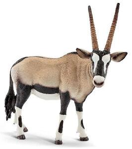 Schleich-14759-Oryx-Antelope-Wild-Animal-Model-Toy-Figurine-2016-NIP