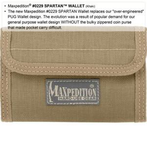 Maxpedition-Spartan-Wallet-Nylon-0229-All-colors-Black-Green-Khaki-Brown-NEW