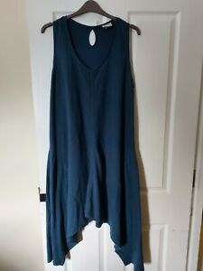 Long Lagenlook Loose Tunic Top or Just above the Knee Dress size 16, 18, 20