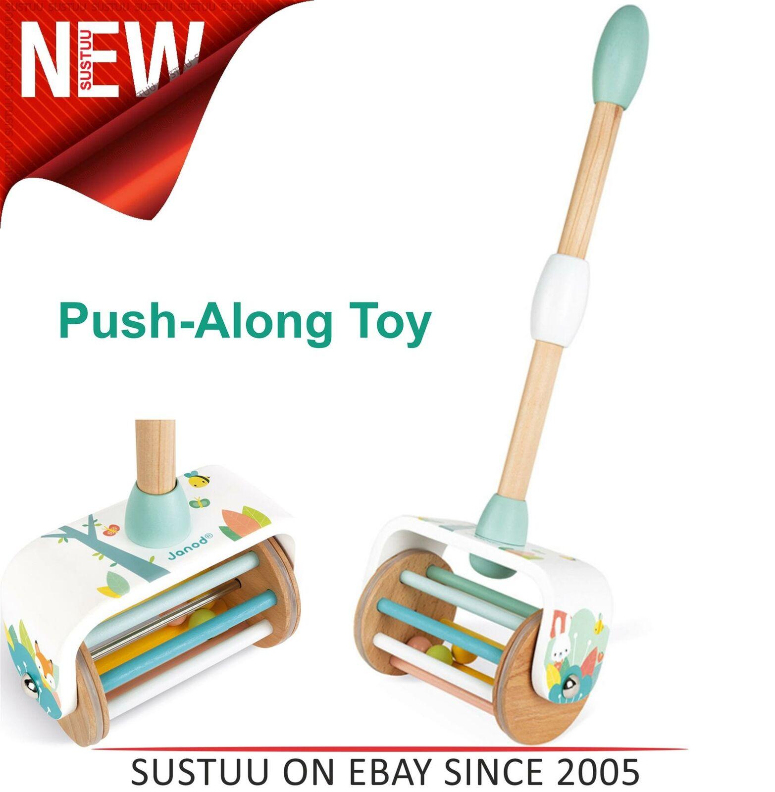 Janod J05154 Wood Pure Push-Along Toy