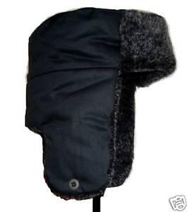 91b154f85e1 Image is loading RUSSIAN-FUR-TRAPPER-HAT-Ladies-winter-cossack-hat-