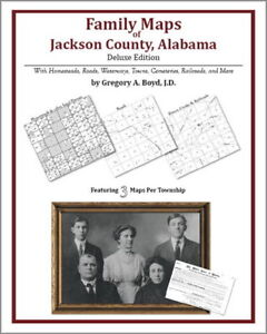 Family-Maps-Jackson-County-Alabama-Genealogy-AL-Plat