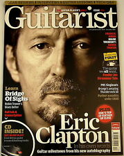 GUITARIST MAGAZINE November 2007 Eric Clapton Fender Robin Trower PRS Orange Quo