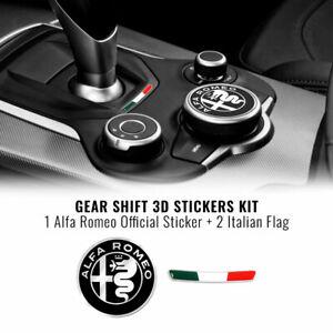 Kit-Adesivo-Alfa-Romeo-Logo-51-mm-Bandiera-per-Interno-Giulia-Stelvio
