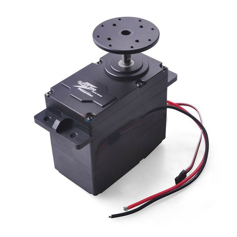 SUPER 300 High Torque metal Servo 12v 24v 300kg.cm  0.5s 60 ° BEC 5v for DIY ROBOT  prezzi più bassi