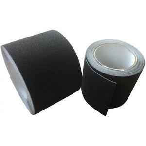 Anti Slip Black Tape High Grip Adhesive Backed Floor Non Slip 25mm 50mm 100mm