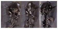 Alien 3D Wall Art Life size RAW BLACK 1:1 Aliens 3 Feet Height Prop
