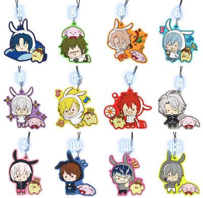 Idolish7 Trigger Re:vale Anime Rubber Strap Charm Keychain Keyring Socks Ver Big