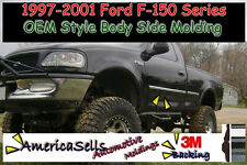 1997-2001 FORD F SERIES F150 F-150 FACTORY CHROME BLACK BODY SIDE MOLDING