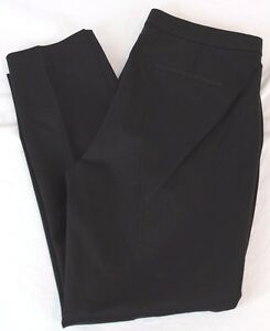 J.Crew $80 Women's Martie Pant Bi-Stretch Cotton Black 0 XS Small B8521