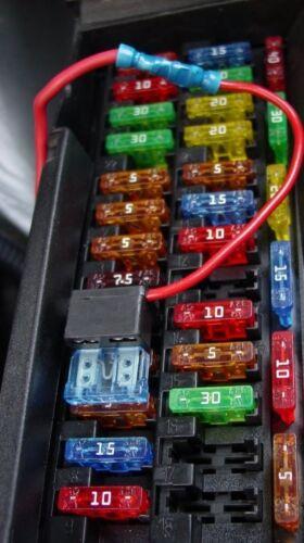 HYUNDAI Terracan 01-04 CAR BLADE Mini Fuse Box KIT 5 10 15 20 25 30 AMP